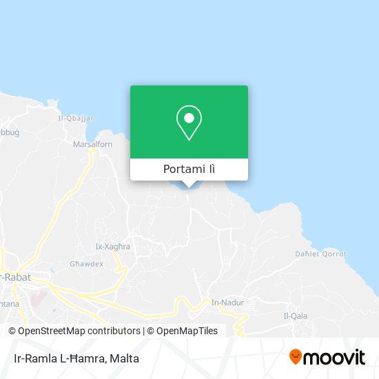 Mappa Ramla L-Hamra