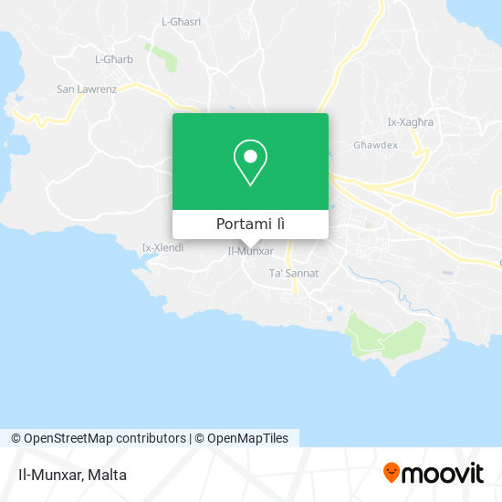 Mappa Il-Munxar
