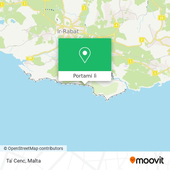 Mappa Ta' Cenc