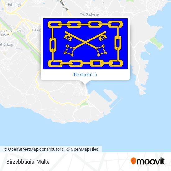 Mappa Birzebbugia