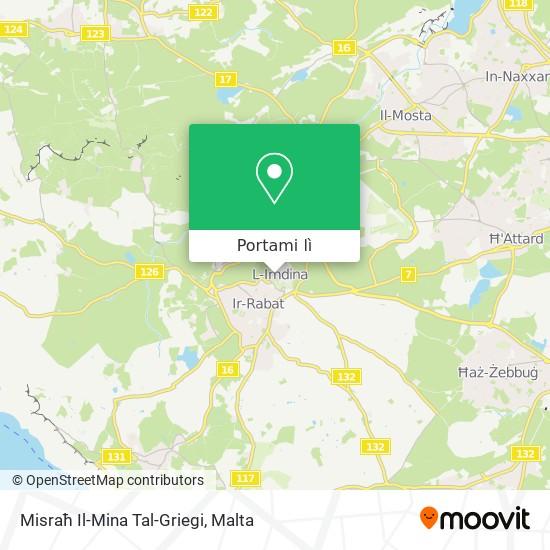 Mappa Misraħ Tal-Mina Tal-Griegi