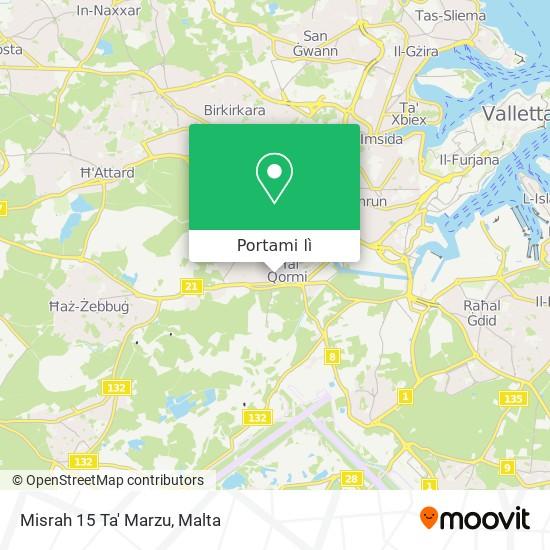 Mappa Misrah 15 Ta' Marzu