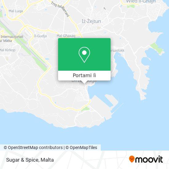 Mappa Sugar & Spice