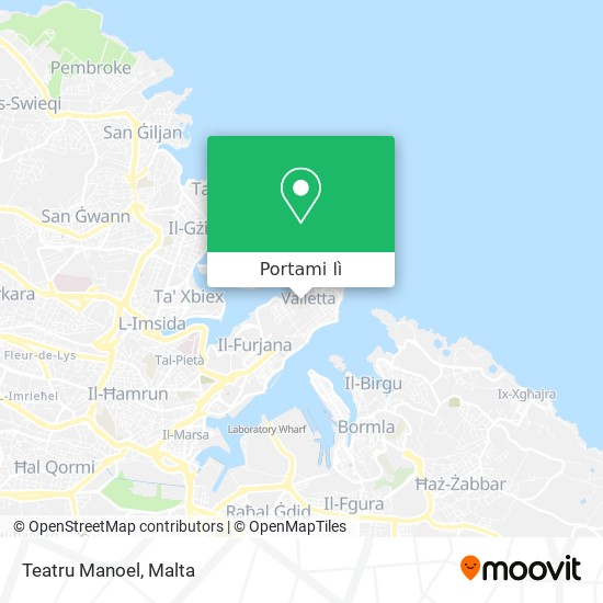 Mappa Manoel Theatre