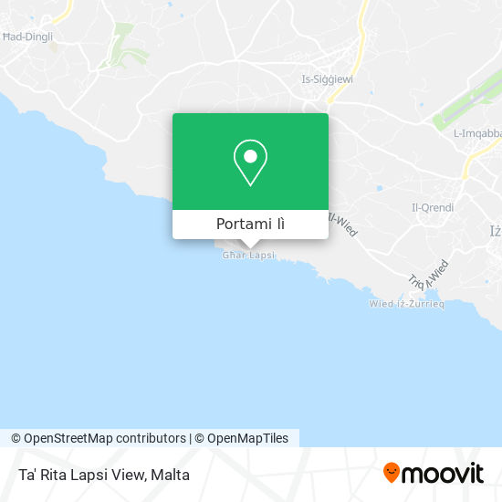 Mappa Ta' Rita Lapsi View