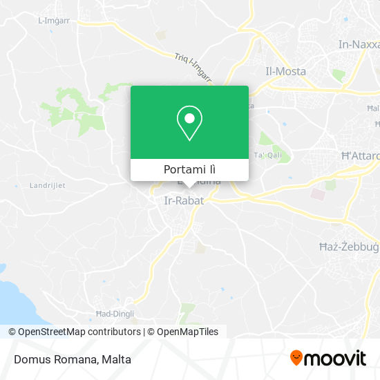 Mappa Domus Romana
