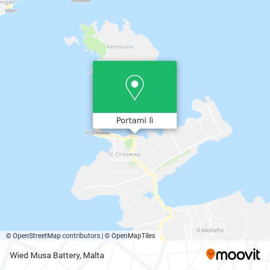 Mappa Wied Musa Battery