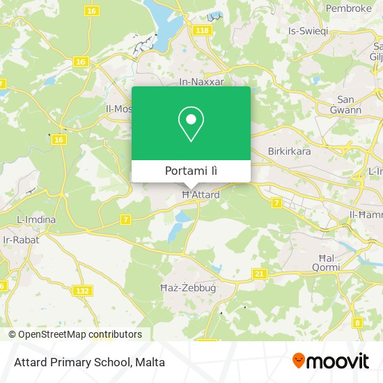 Mappa Attard Primary School
