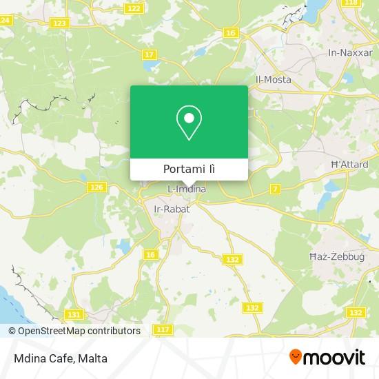 Mappa Mdina Cafe