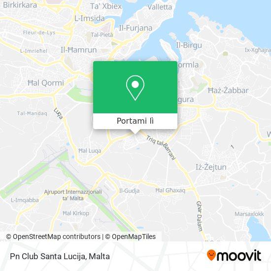 Mappa Pn Club Santa Lucija