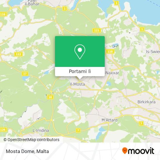 Mappa Mosta Dome