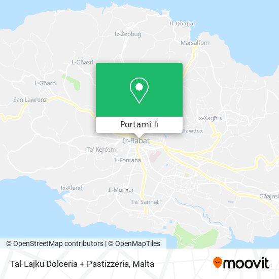 Mappa Tal-Lajku Dolceria + Pastizzeria