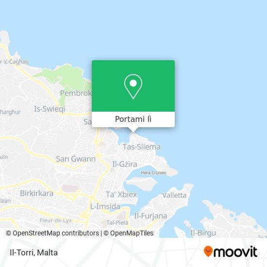 Mappa Il-Torri