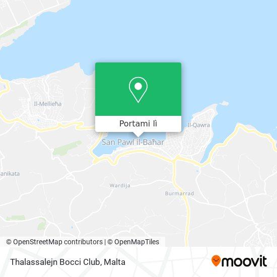 Mappa Thalassalejn Bocci Club