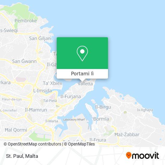 Mappa St. Paul
