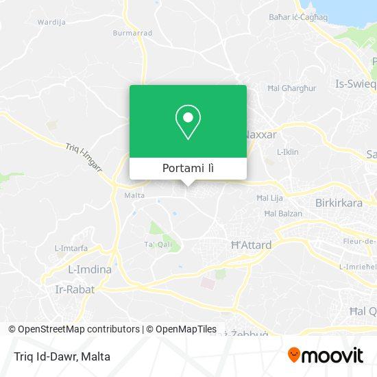 Mappa Triq Id-Dawr