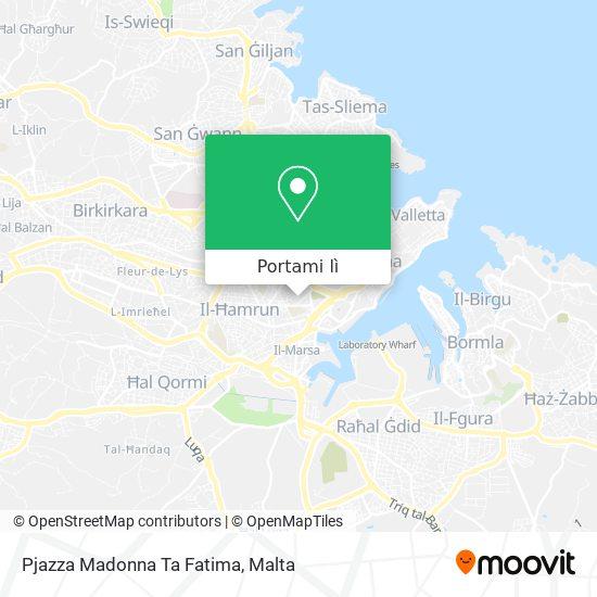 Mappa Pjazza Madonna Ta Fatima
