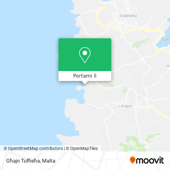 Mappa Għajn Tuffieħa