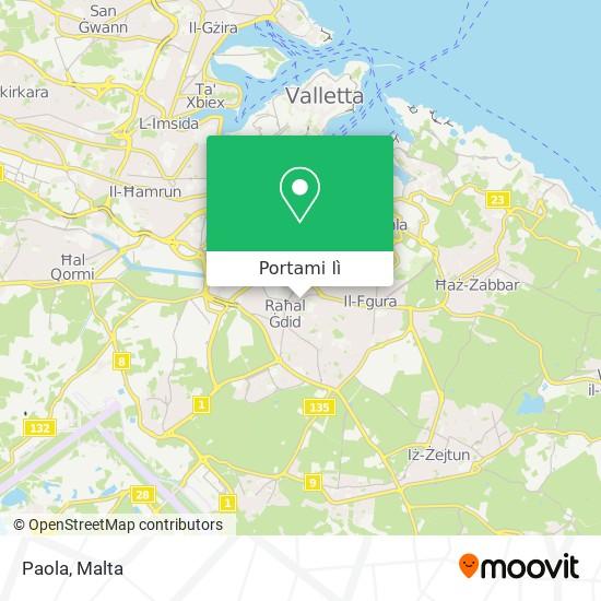 Mappa Paola