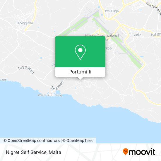 Mappa Nigret Self Service