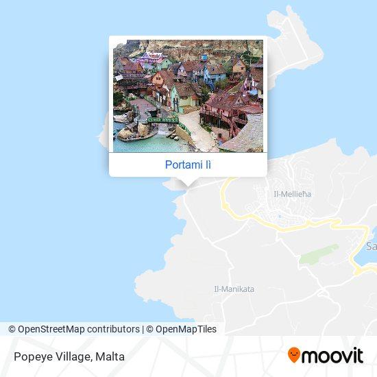 Mappa Popeye Village