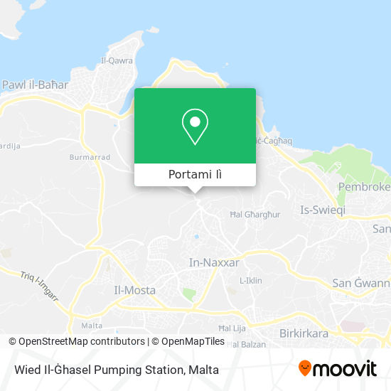 Mappa Wied Il-Ġhasel Pumping Station