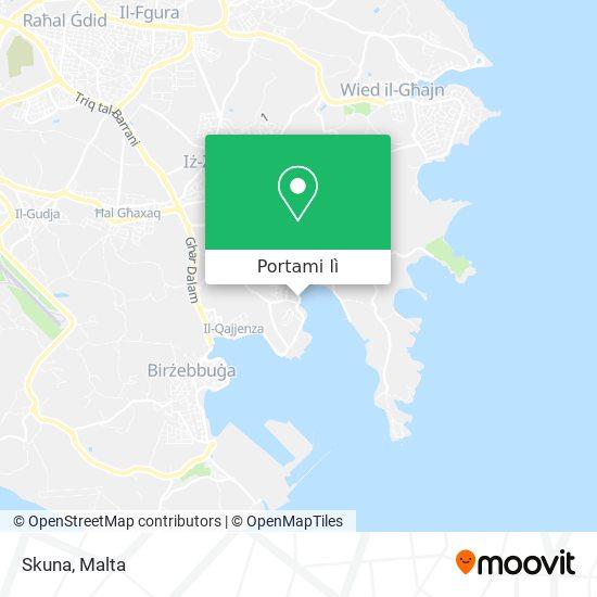 Mappa Skuna