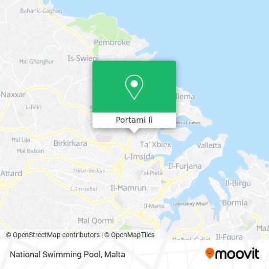 Mappa National Swimming Pool