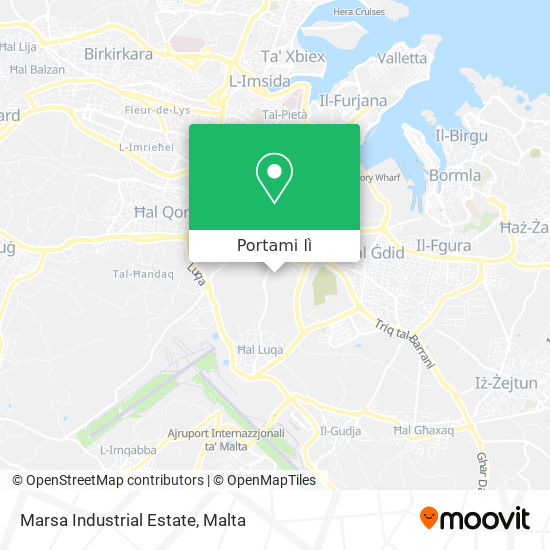 Mappa Marsa Industrial Estate
