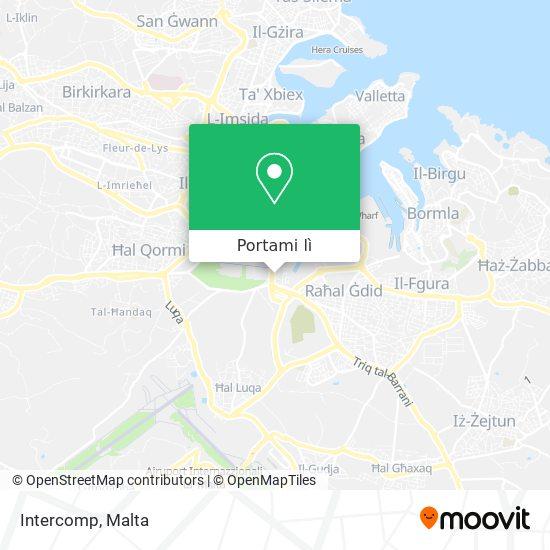 Mappa Intercomp
