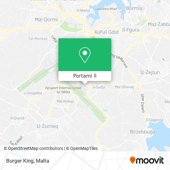Mappa Burger King
