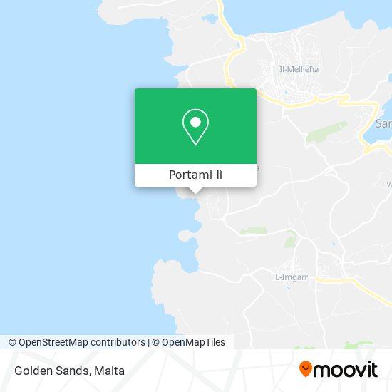 Mappa Golden Sands