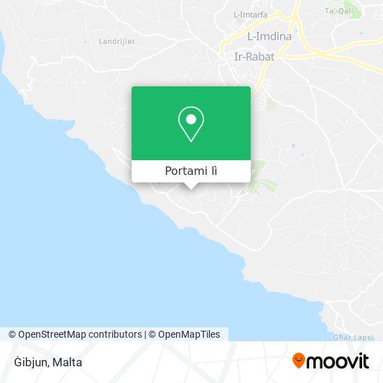 Mappa Ġibjun