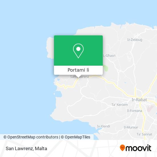 Mappa San Lawrenz