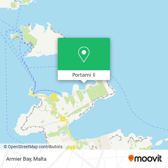 Mappa Armier Bay