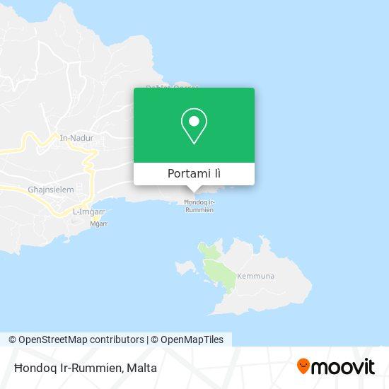 Mappa Ħondoq Ir-Rummien