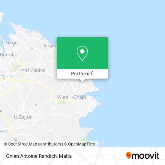 Mappa Ġnien Antoine Randich