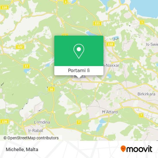 Mappa Michelle