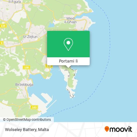 Mappa Wolseley Battery