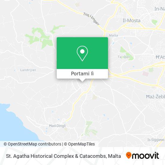 Mappa St. Agatha Historical Complex & Catacombs