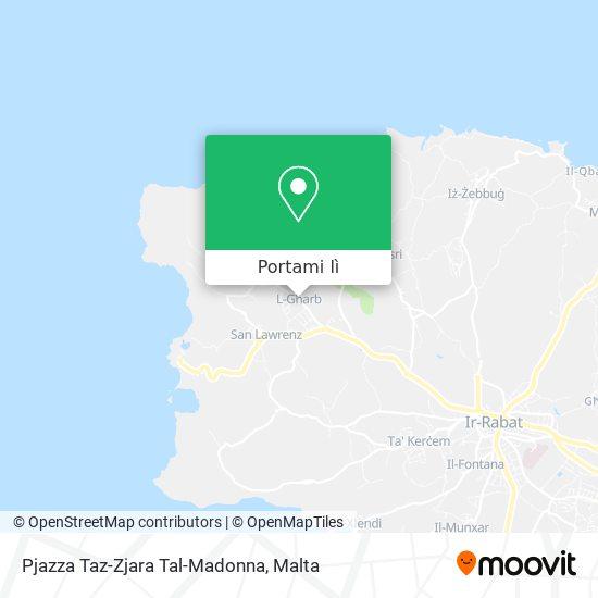 Mappa Pjazza Taz-Zjara Tal-Madonna