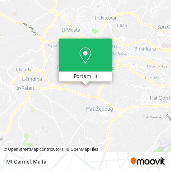 Mappa Mt Carmel