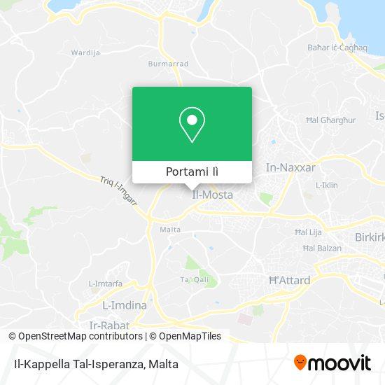 Mappa Il-Kappella Tal-Isperanza