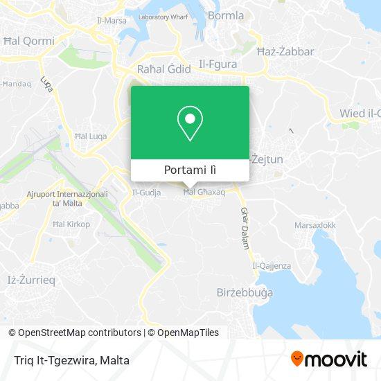 Mappa Triq It-Tgezwira