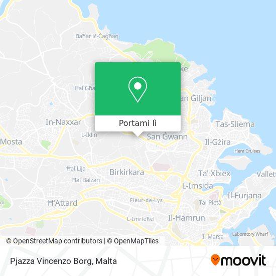 Mappa Pjazza Vincenzo Borg