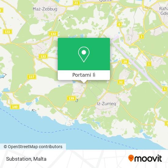 Mappa Substation