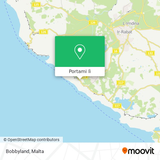Mappa Bobbyland