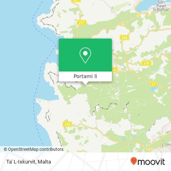 Mappa Ta' L-Iskurvit