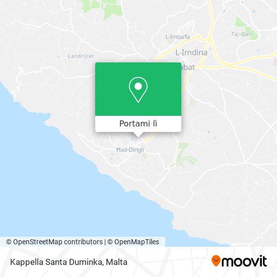 Mappa Kappella Santa Duminka