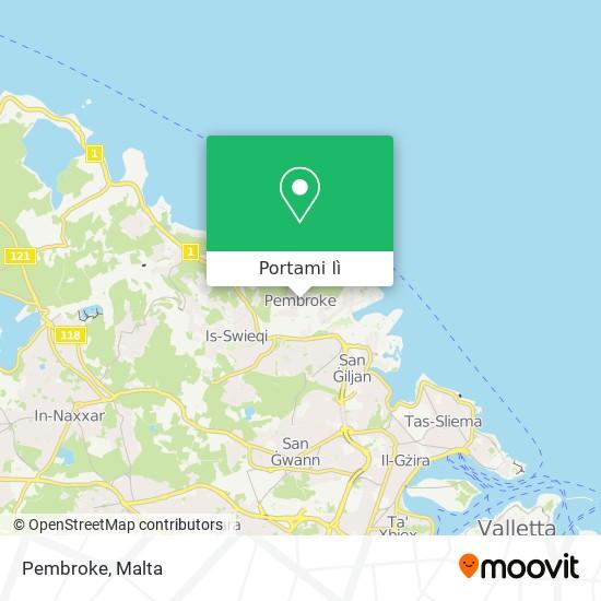 Mappa Pembroke